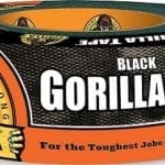 Gorilla Black Duct Tape