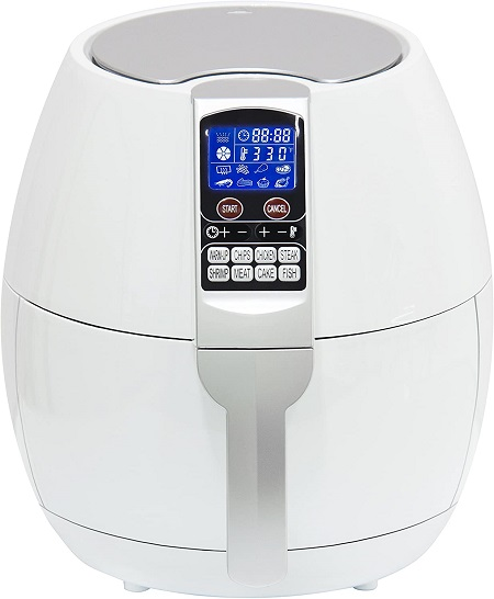 Best Hot Air Fryers W/ 8 Cooking Presets That Cook Chicken without oil required